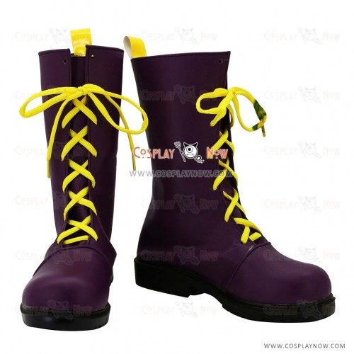 Vocaloid Snow Miku Cosplay Shoes Kagamine Rin Boots