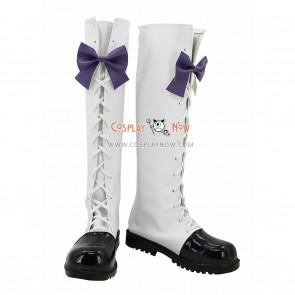 Vocaloid Snow Miku Cosplay Shoes Hatsune Miku Boots