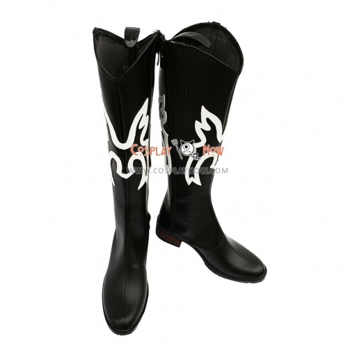 One Piece Cosplay Shoes Sanji Black Boots