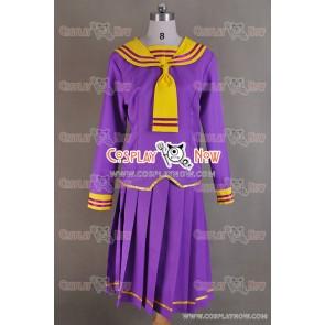 Fruits Basket Tohru Honda Cosplay Costume Purple