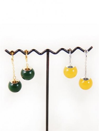 BALL Supreme Kai God of Creation Earrings Cosplay Prop one pair