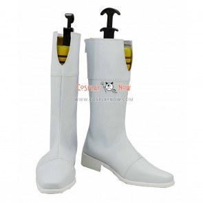 Mobile Suit Gundam Cosplay Shoes SEED Stella Loussier White Boots