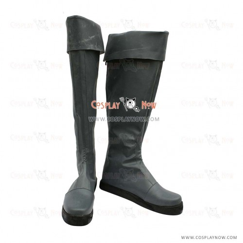 Fairy Tail Cosplay Shoes Gildarts Clive Boots