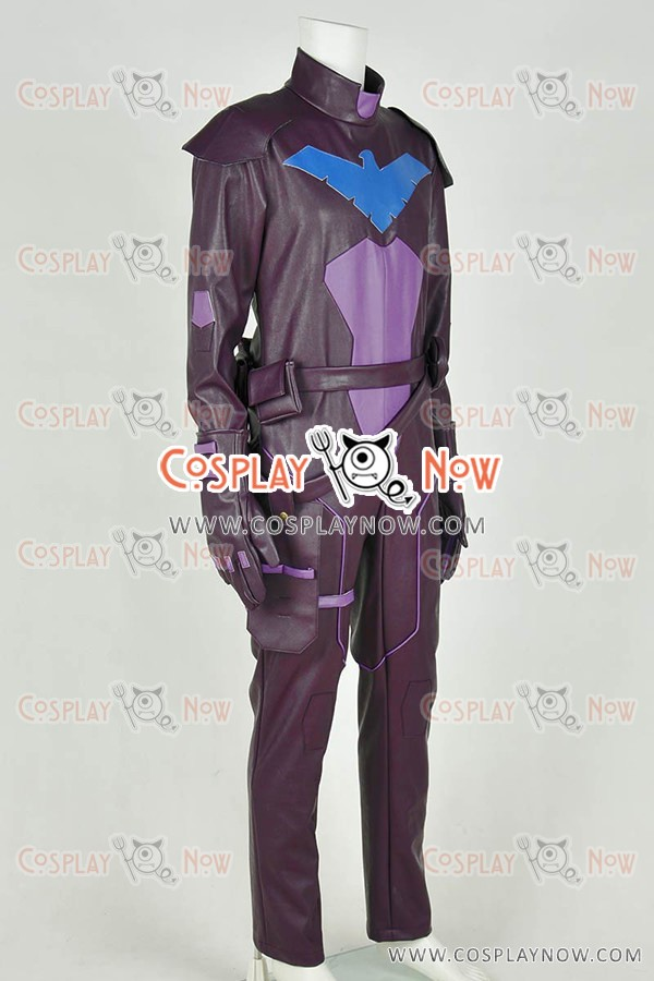 856ee35e56cb Young Justice Nightwing Cosplay Costume