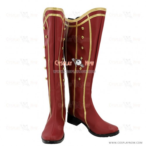 Ensemble Stars Cosplay Shoes Mika Kagehira Boots
