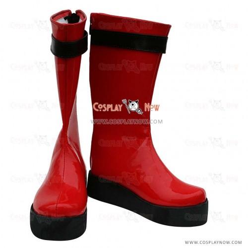Samurai Sentai Shinkenger Cosplay Shoes Takeru Shiba Boots