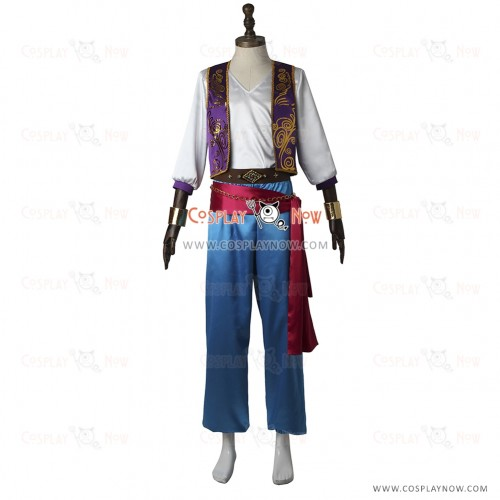 A3 First SUMMER EP Water me! Cosplay Ikaruga Misumi Costume Uniform