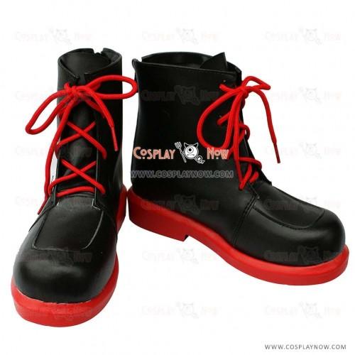 Pokemon Cosplay Touko Black & Red Cosplay Boots