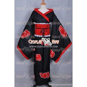 Naruto Cosplay Organization Akatsuki Cosplay Costume