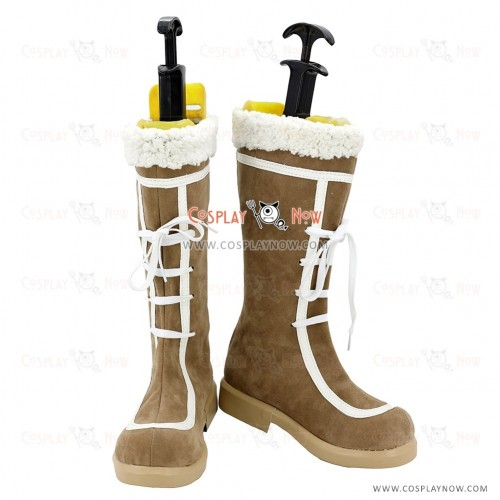 The Idolmaster Cosplay Shoes Okamura Nao Boots