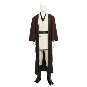 Jedi Knight Obi Wan Kenobi Costume For Star Wars Cosplay