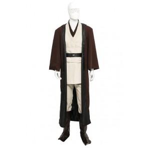 Jedi Knight Obi Wan Kenobi Costume For Star Wars Cosplay