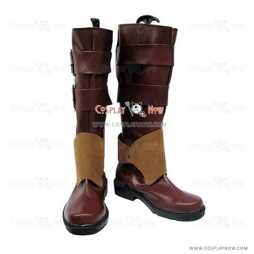 Pandora Hearts Cosplay Shoes Oz.vessalius Cool Buckle Boots