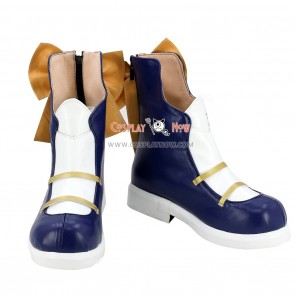 VOCALOID Snow Miku Cosplay Kagamine Rin Shoes