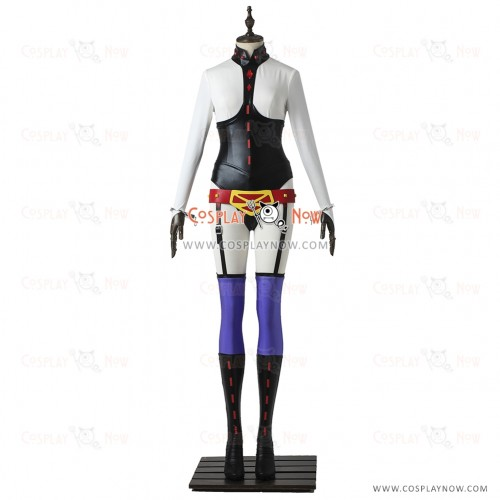 My Hero Academia Cosplay Midnight Costume Jumpsuit