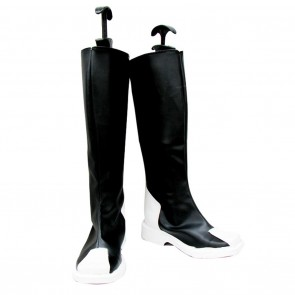Gundam Seed Cosplay Shoes Z.A.F.T Uniform Black Boots