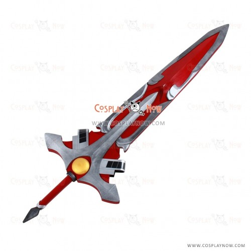 Elsword Cosplay Lord Knight props with Sword