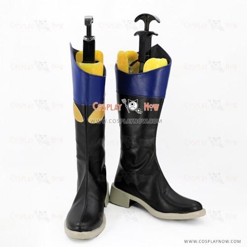 Tsukiuta Cosplay Shoes Shiwasu Kakeru Boots