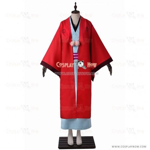 Abeno Haruitsuki Costume Cosplay The Morose Mononokean