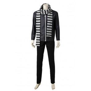 Despicable Me 3 Cosplay Gru Costume