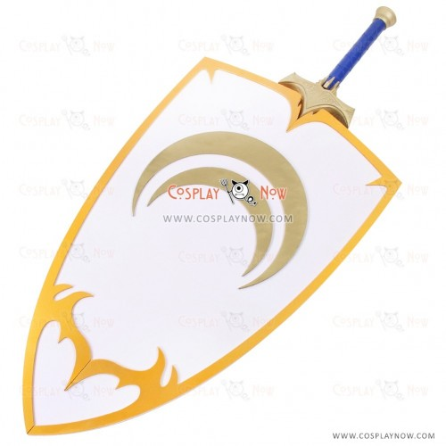 RWBY Cosplay Jaune Arc Props with Knife