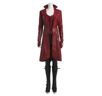 Wanda Maximoff Scarlet Witch Costume For Captain America Civil War Cosplay