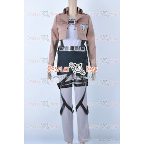 Attack On Titan Cosplay Eren Jaeger Costume