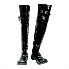 Hitman Reborn Cosplay Shoes Chrome Dokuro Shiny Boots