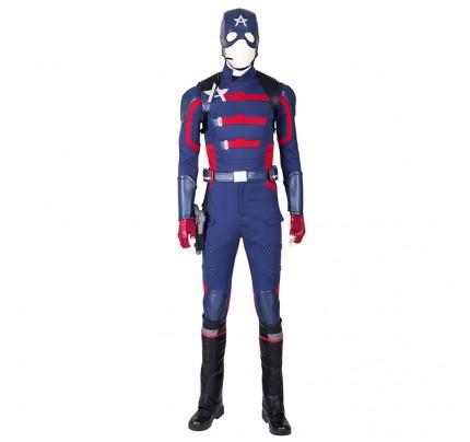 Marvel Comics Cosplay Captain America Costume