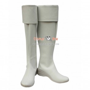 Magi Cosplay Shoes Titus Alexius White Boots
