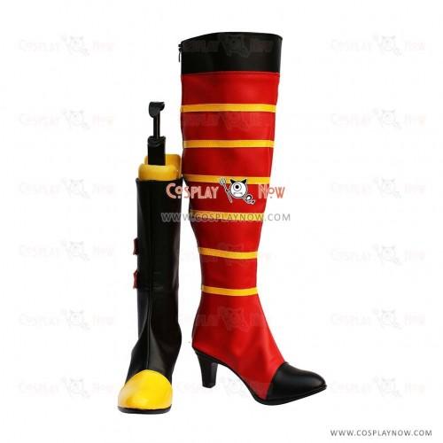 Tales of Vesperia Cosplay Shoes Rita Mordio Boots