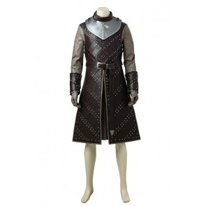 Game of Thrones Season 6 Cosplay Jon Snow Costume