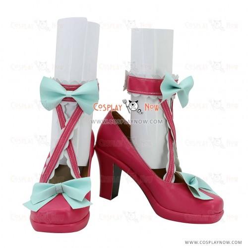 Aikatsu! Ichigo Hoshimiya Cute Cosplay Shoes
