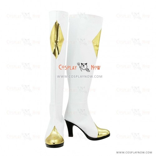 Code Geass Cosplay Shoes C.C Boots