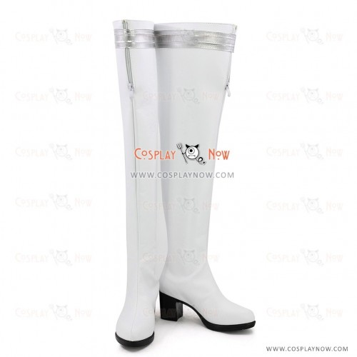 Final Fantasy XIV Cosplay Shoes Alphinaud Leveilleur White Boots