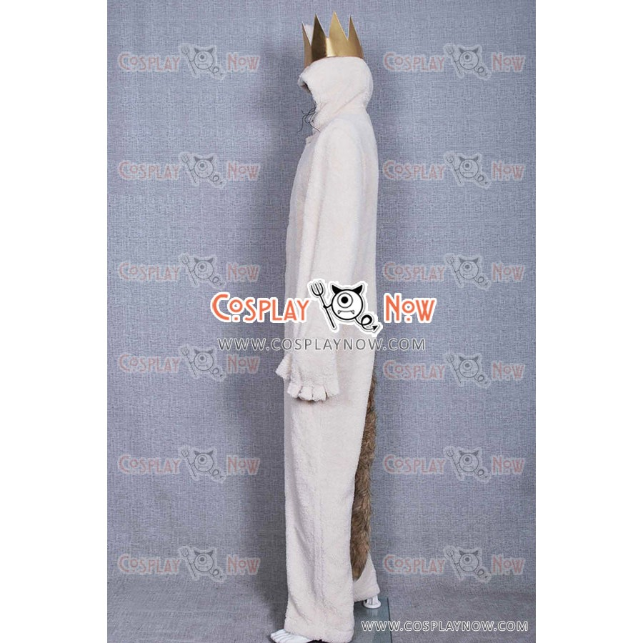 Where the Wild Things Are Wolf Max Records Cosplay Costume Jumpsuit In Stock