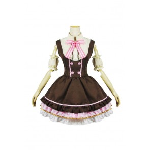Love Live Cosplay Nico Yazawa Maid Dress Costume
