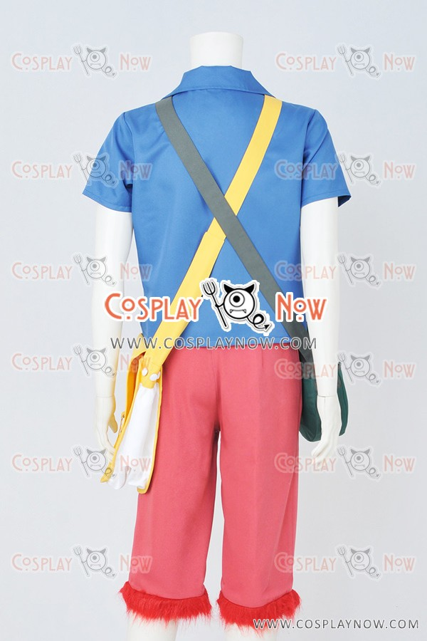 One Piece Strong World Monkey D Luffy Cosplay Costume