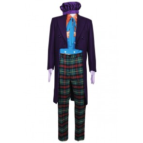 Joker Cosplay Cook Costume Suit