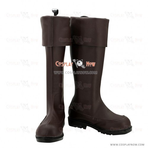 The Legend of Heroes Cosplay Shoes Trails of Cold Steel Crow Armbrust Boots