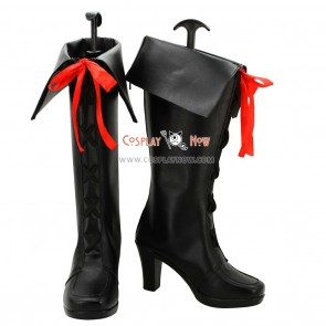 AKB0048 Cosplay Shoes Hikari Kimishima Black Boots