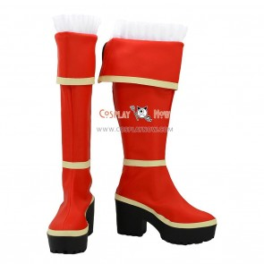 Dungeon Fighter Online Cosplay Shoes BattleMage Boots