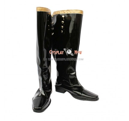 Castlevania Cosplay Shoes Earl Black Boots