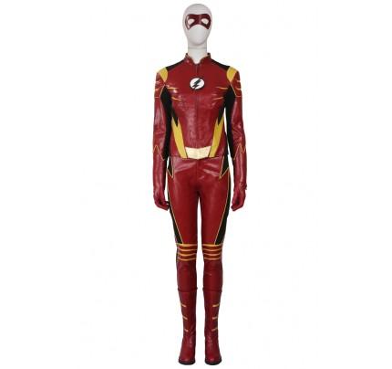 Jesse Quick Costume For The Flash Season 3 Cosplay Uniform