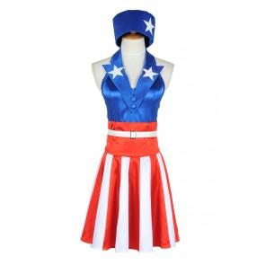 The Avengers Captain America Cosplay Costume