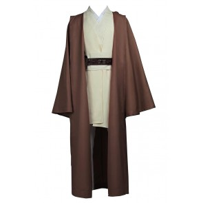 Obi Wan Kenobi Jedi Knight Costume For Star Wars Cosplay