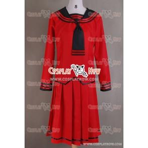 Fruits Basket Cosplay Tohru Honda Costume Red Uniform