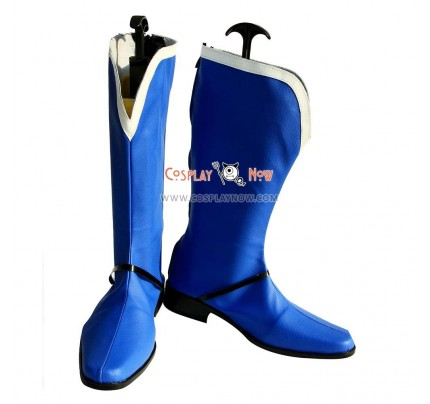 Lagrange The Flower of Rin-ne Cosplay Shoes Fineld Si Laffinty Boots