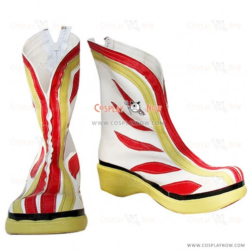 Dynasty Warriors Cosplay Shoes Sun Shang xiang Boots