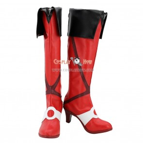 Macross Delta Macross Cosplay Shoes Freyja Wion Boots